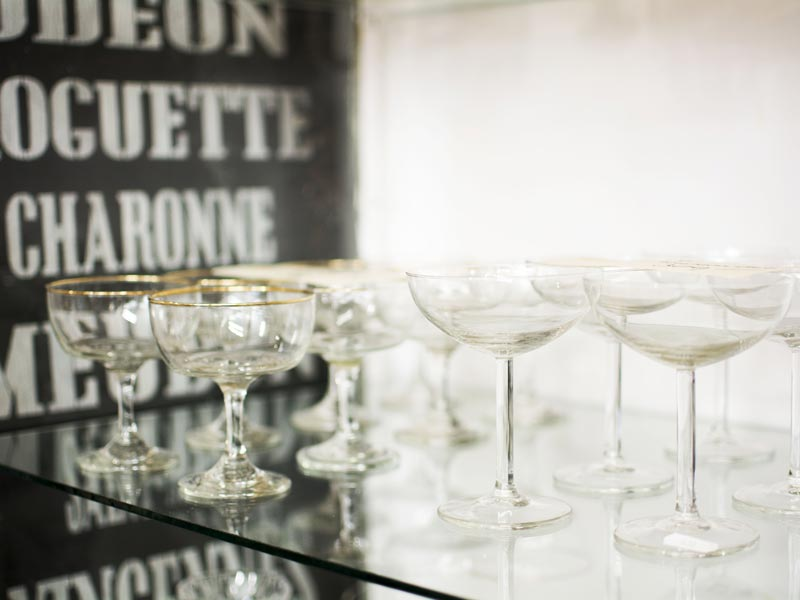 Aakanden fransk vintage